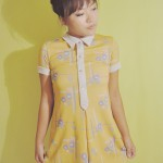 Wong Kar Wai heroines and my vintage yellow dress
